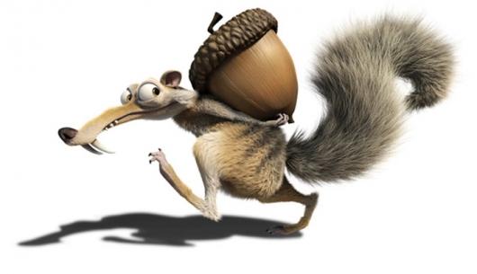 Ice Age Eichhörnchen